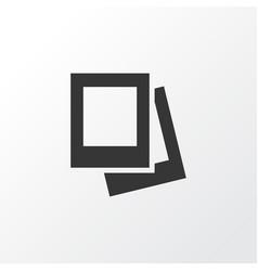 Gallery icon symbol premium quality isolated vector