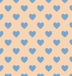 Seamless polka dot brown pattern vector image vector image