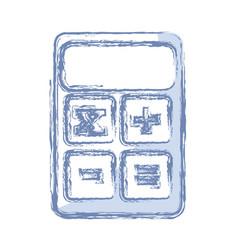 Calculator icon image vector