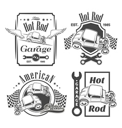 Set hot rod vector