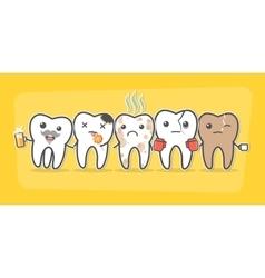 Bad teeth company vector