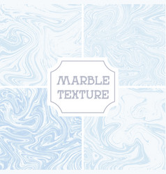 Light white and blue marble texture liquid vector