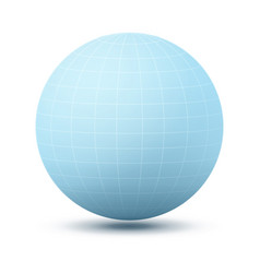 Round shape icon of planet vector