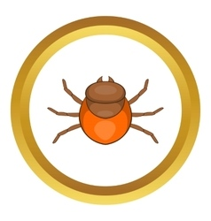 Tick icon vector