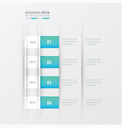 Timeline design design blue gradient color vector