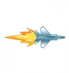 jetplane vector image