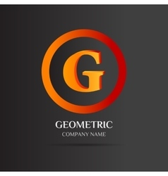 G letter logo abstract design vector