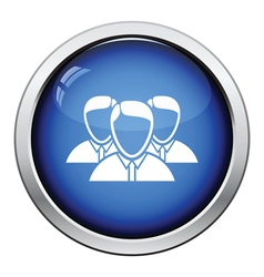 Business team icon vector