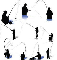 Fishermen-s vector