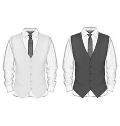 Formal wear for men vector image vector image