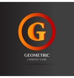 G letter logo abstract design vector