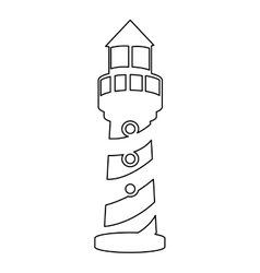 Lighthouse pictogram icon image vector