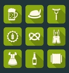 Oktoberfest Traditional Elements vector image vector image