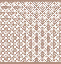 Rosybrown abstract damask pattern backdrop vector