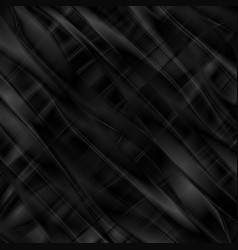 abstract black smooth stripes background vector image