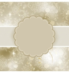 Christmas frame design for xmas card eps 8 vector