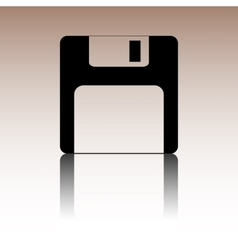 Floppy disk icon vector