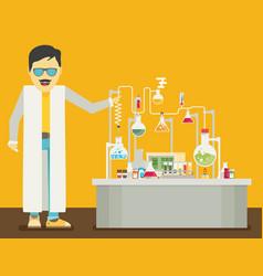 Laboratory conceptual vector
