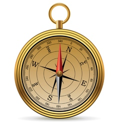 vintage compass vector image vector image