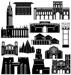 Architecture of the world 4 vector