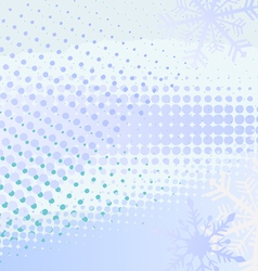 Winter horizontal banner vector