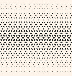 halftone texture floral seamless pattern vector image vector image