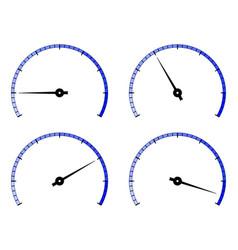 Industrial scale blank universal gauge dial vector