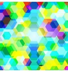 Polygonal1 vector image vector image