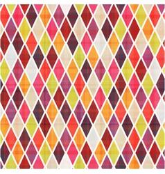 seamless rhombus pattern vector image vector image