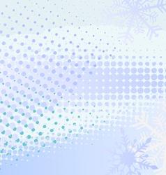 Winter horizontal banner vector