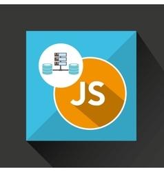 Js language data base storage vector