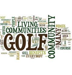 Live and play golf everyday text background word vector