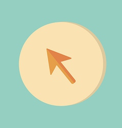 Web arrow cursor icon vector