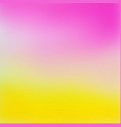 Abstract pink to yellow gradient background vector