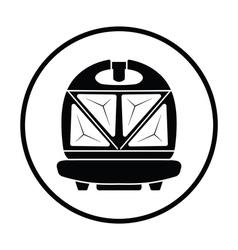 Kitchen sandwich maker icon vector image