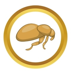 Flea icon vector
