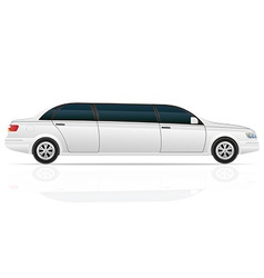 Car limousine vector
