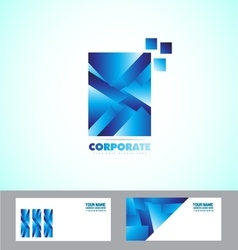Corporate business sign logo vector