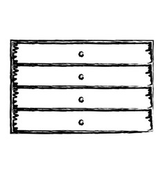 Monochrome blurred silhouette of wooden board with vector