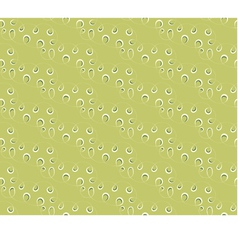 seamless background Lace on a green background vector image vector image