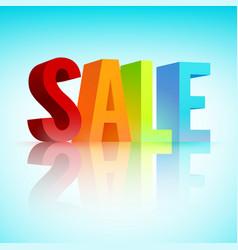 Sale promotion template vector