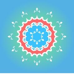 Yakutian Style Ornament vector image