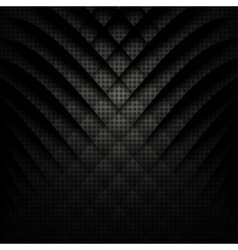 Abstract geometric background Black and white vector image vector image