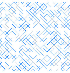 Abstract geometric background random lines pattern vector