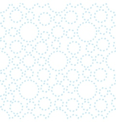 Watercolor abstract seamless background with dots vector image