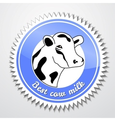 Cows logo vector