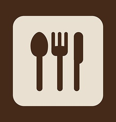 cutlery design vector image