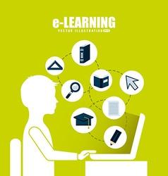 E-learning vector