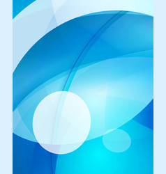 glossy glass shiny bubble abstract background vector image vector image