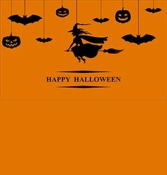 halloween hang vector image